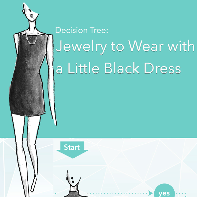 Decision Tree Jewelry To Wear With A Little Black Dress Jewelry Wise